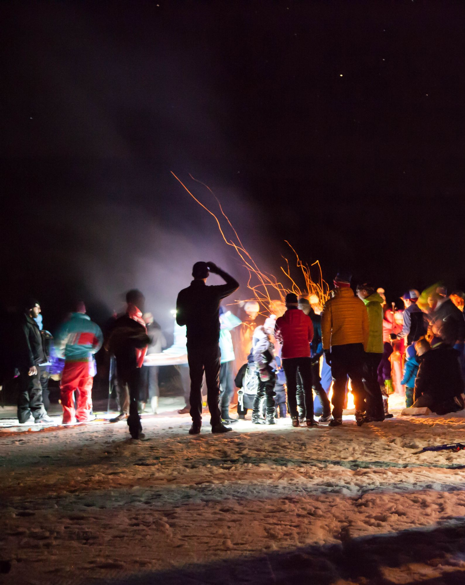 Aspen Valley Ski & Snowboard Club Nordic Bonfire