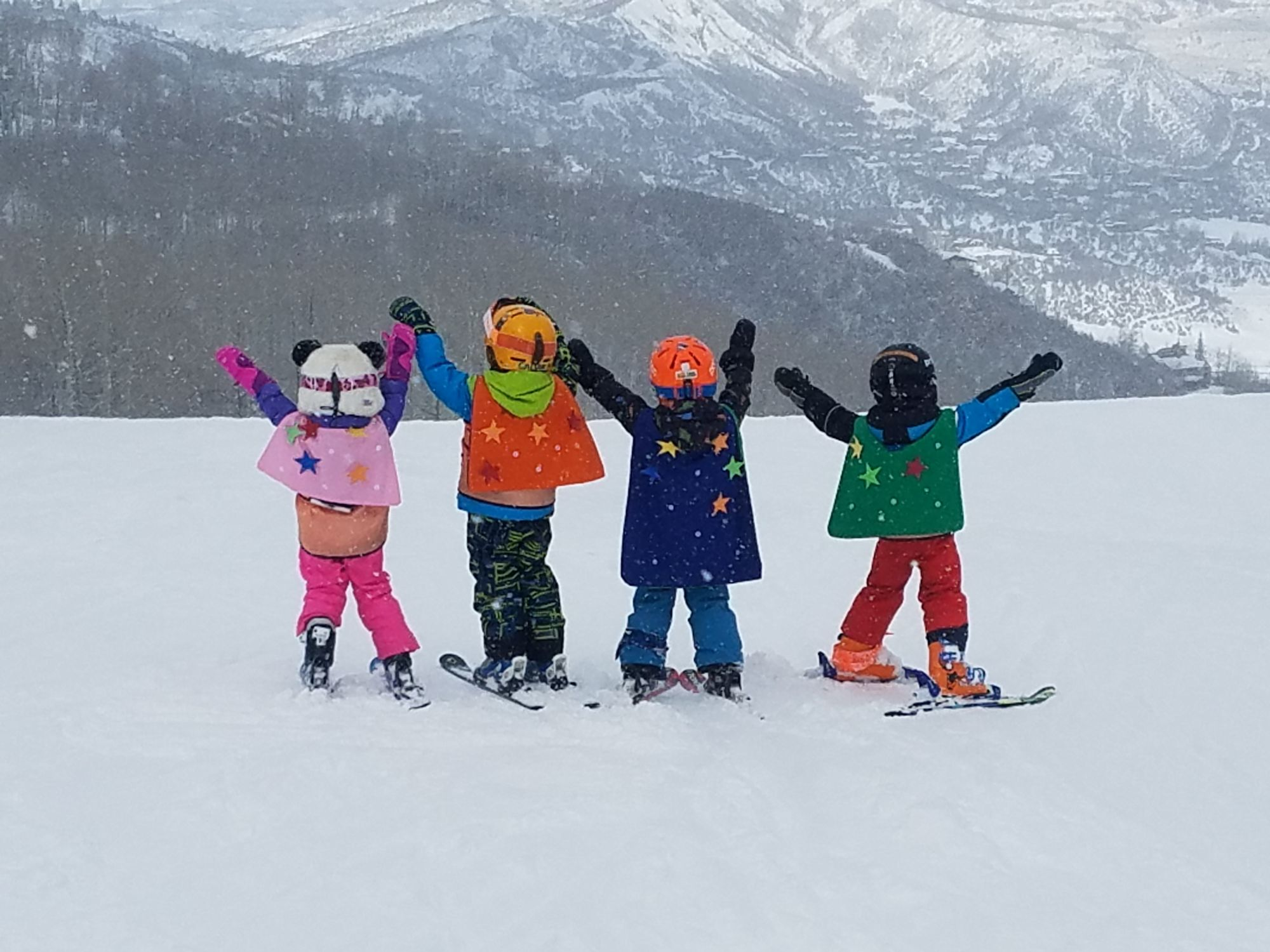 Aspen Supports Kids athletes in Snowmass
