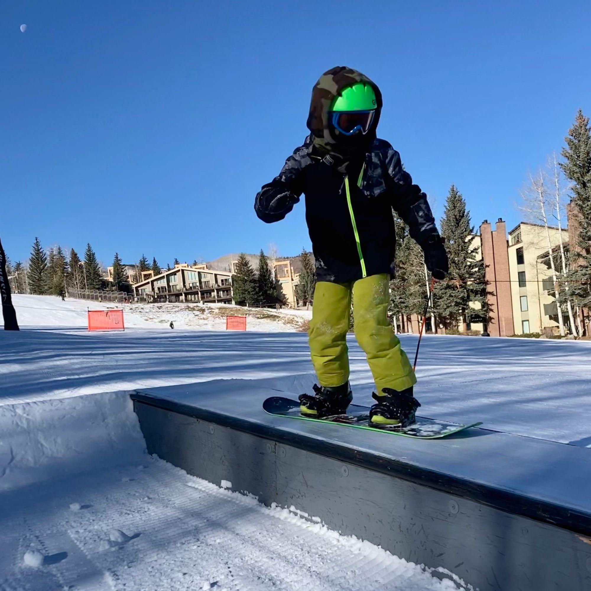 AVSC Snowboard Spring Break Camp